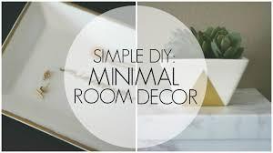 minimal decor diy room decor minimalist inspired youtube