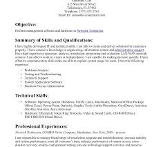 Professional And Technical Skills For Resume Technical Resume Templates Sample Technical Resume 53 Resume