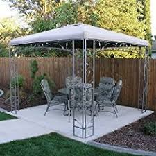 Replacement Awnings For Gazebos Replacement Canopy For Lowes Garden Treasures Finial Classic
