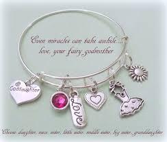 goddaughter charm bracelet goddaughter charm bracelet gift for goddaughter gift ideas