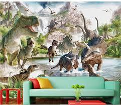 chambre dinosaure décoration de la maison 3d chambre papier peint moderne salon fonds