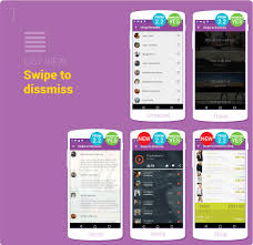 layout template listview ui android elements using google s material design