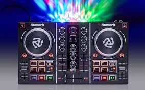amazon com numark party mix starter dj controller with built in