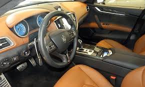 Saddle Interior Maserati Ghibli Photos Truedelta Car Reviews