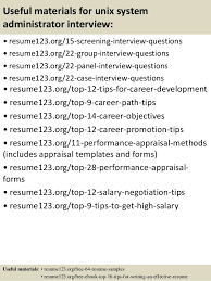 System Administrator Resume Example by Top 8 Unix System Administrator Resume Samples