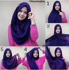 tutorial hijab pashmina tanpa dalaman ninja my lovelydisaster