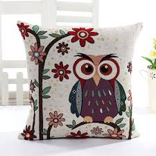 Pillow Decorative For Sofa by Amazon Com Niceeshop Tm Cute Home Style Owl Soft Linen