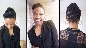 Chunky Flat Twist Hairstyles by Natural Hairstyle Of The Week Flat Twist Updo