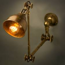 Adjustable Wall Sconce Brass Wall Lamp Shade
