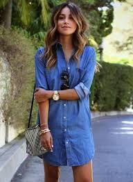 women u0027s denim jacket dress shirt oasap