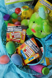 candy basket ideas candy free easter basket ideas unleashed