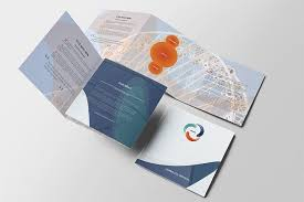 modern business square brochure words creative and brochure