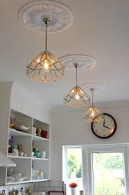 Diy Glass Pendant Light My New Diy Brass And Glass Kitchen Pendants Swoon Worthy