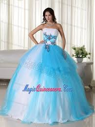 quinceanera dresses 2014 appliques accent tulle quinceanera gown dresses in white and tulle
