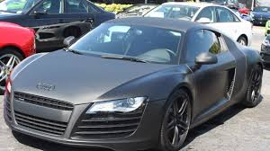 Audi R8 All Black - matte black carbon fiber audi r8 youtube