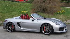porsche spyder 1960 used 2015 porsche boxster 981 12 16 spyder for sale in cornwall