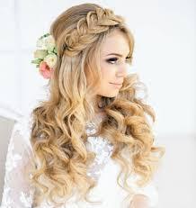 Wiesn Kurzhaarfrisuren Selber Machen by Wiesn Frisuren Lange Haare Halboffen Flechtfrisuren Blumen Locken