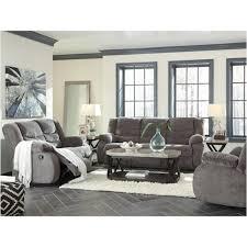 9860688 ashley furniture tulen gray living room reclining sofa