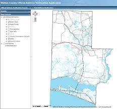 Address Map County Maps Portal Walton County Fl Home Page