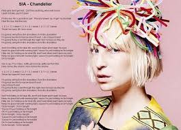 Im Gonna Swing From The Chandelier Chandelier Sia Full Song Lyrics Youtube