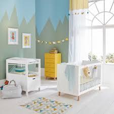 chambre bébé maison du monde lit bébé à barreaux blanc l 126 cm maisons du monde