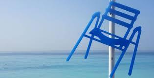 chaise bleue sabine géraudie décline la chaise bleue niçoise