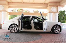 matte rolls royce ghost legend limousines inc rolls royce ghost rolls royce rental