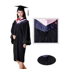 master s cap and gown master s degree gown bachelor costume cap graduates