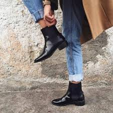 best street riding boots how to wear chelsea boots for women best style guide fmag com