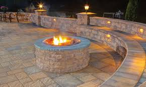 Pictures Of Backyard Fire Pits Outdoor Living Solutions Like Fire Pits Fireplaces And Outdoor