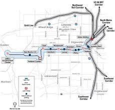 denver light rail expansion map lrt information page denver