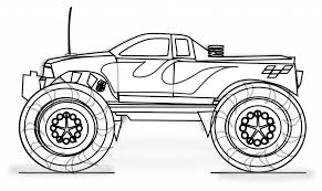 Adult Printable Monster Truck Coloring Pages For Kids Printing Printing Color Pages