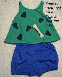 Pebbles Halloween Costume Toddler Pebbles Flintstone Cosplay Flintstones