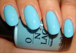 opi light blue nail polish nail art tutorial octopus nails swatch and learn