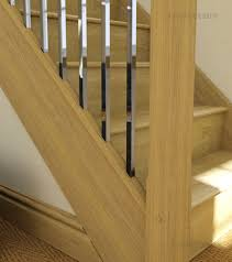 Oak Banisters Axxys2 Stairparts Chrome Handrail Fittings Axxys Balustrading