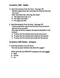 reading wonders grade 3 unit 2 week 2 comprehension worksheets by