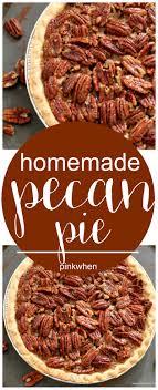 pecan pie recipe pinkwhen
