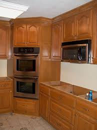 corner kitchen furniture magnificent corner kitchen hutch furniture with cabinet section for