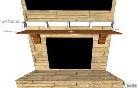attaching mantle to brick fireplace fireplace ideas