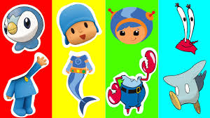 wrong heads pokemon pocoyo team umizoomi sponge bob captain