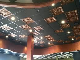 drop ceiling ideas for basement soundproof ceiling tiles home