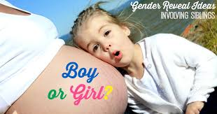 gender reveal announcement ideas baby gender reveal with siblings 8 ideas that involve the kids