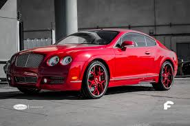 custom bentley mulsanne wheels red bentley gt coupe with custom painted gloss red u0026 chrome lip