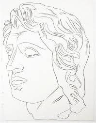 andy warhol portrait drawing essay