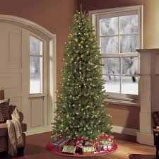 the aisle 7 5 green slim artificial tree with