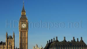 London Clock Tower by Ultra Hd 4k Video Time Lapse Stock Footage Westminster Bridge