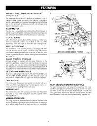 Ryobi Table Saw Manual Features Ryobi Ts1143l User Manual Page 9 84