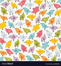 bird wrapping paper bird wallpaper royalty free vector image vectorstock