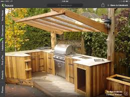 backyard kitchen ideas simple outdoor kitchen crafts home