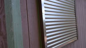Interior Security Window Shutters Rolling Shutters Security Shutters On Cabin Youtube